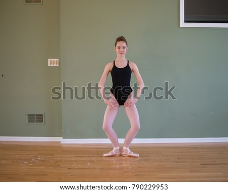 Very teens wearing leotards and tights phrase