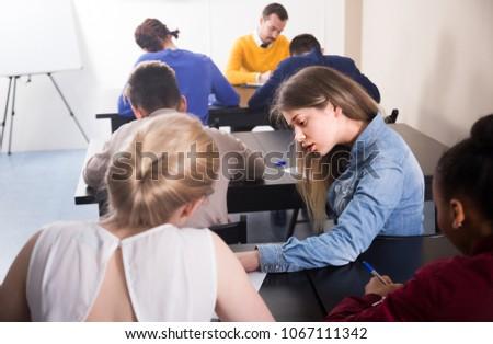 cheating on school work