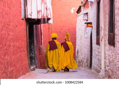 Young Tibetan Monks in Lhasa