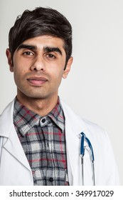 Young trainee doctor looking confident