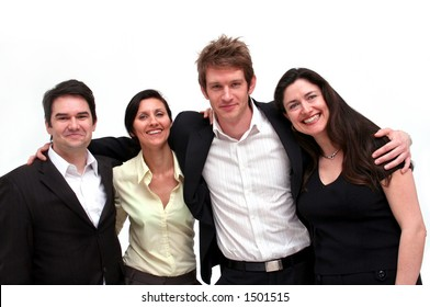 young urban business team