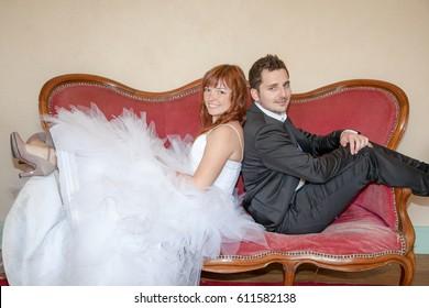 Brautpaar Vintage Stock Photos Sports Recreation Images Shutterstock