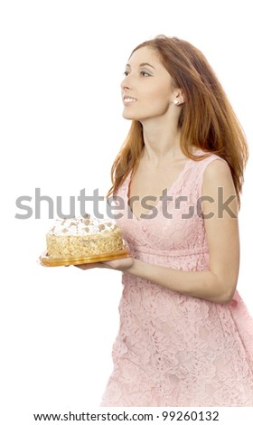 Young Woman Bears Pie Stock Photo Edit Now 99260132 Shutterstock - Baeras-con-pies