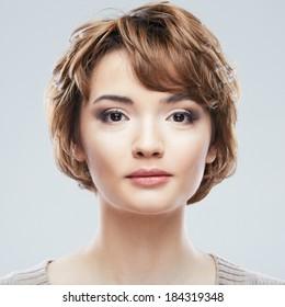 Light Brown Short Hair Images Stock Photos Vectors Shutterstock