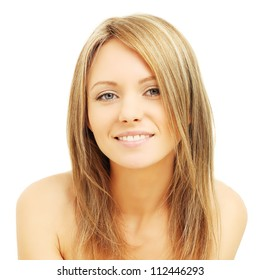 Young woman with friendly smile