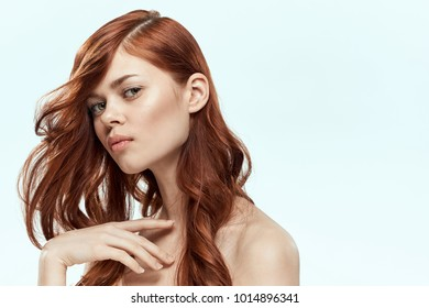 young woman, hairstyle, beauty