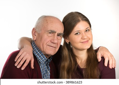 Old grandpas with young girls