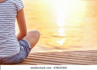 Person Sitting Quietly HD Stock Images | Shutterstock