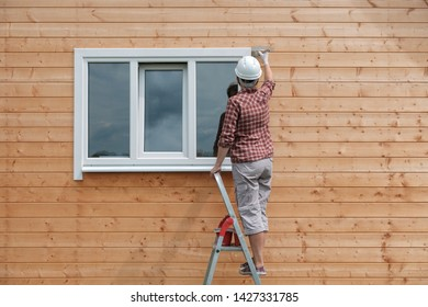 Painting A Wall Outside Images Stock Photos Vectors Shutterstock