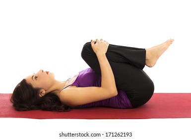 Knee Chest Exercise Images Stock Photos Vectors Shutterstock