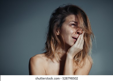 Crying woman images stock photos vectors shutterstock - Sad girl pictures crying ...