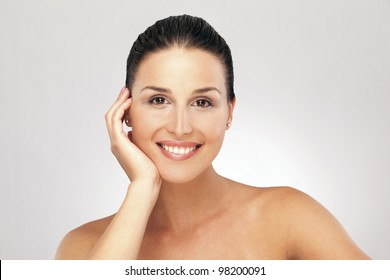 Young woman smile