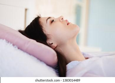 Woman Snoring Images Stock Photos Vectors Shutterstock