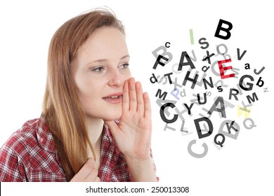 Image result for images of babbling gibberish