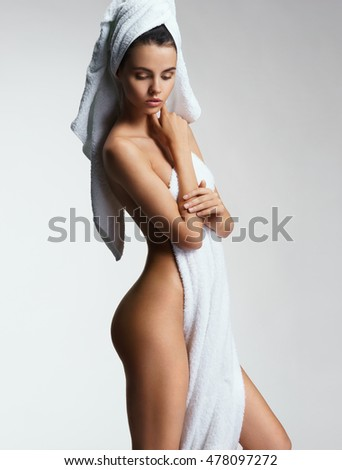 sexy girl in shower background