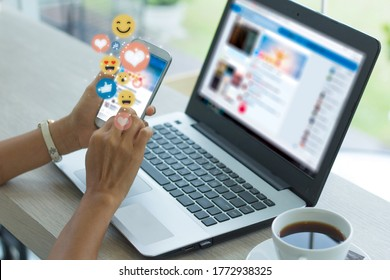 Young woman using smart phone - Shutterstock ID 1772938325