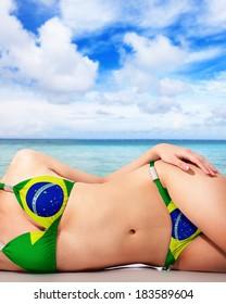 Brazilian bikini imagestures