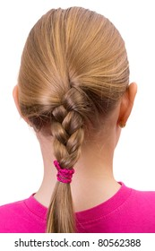 Young woman's braid
