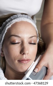 Young Women on Facial Treatment