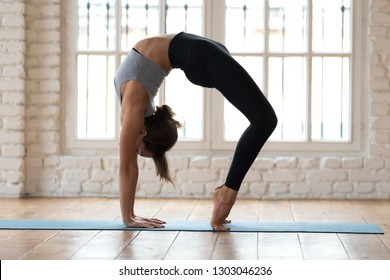 chakrasana images stock photos  vectors  shutterstock