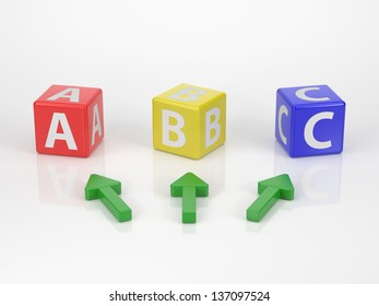 It's Your Choice - Series Letter Dices