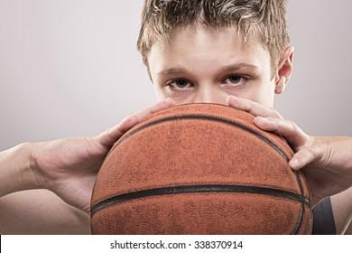 youth basketball player