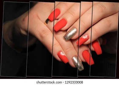 Youth manicure design best nails, gel varnish