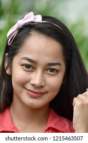 Youthful Asian Juvenile Portrait