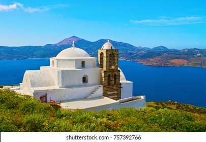 Ypapanti of Christ or Panaghia Thalassitra church in Milos island Greece