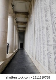 Ypres - Belgium, 15/dec/2018, a day visitin the WW1 menin gate memorial. place where every year the commemoration take place.