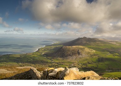 Yr Eifl, a collection of hills on the lleyn peninsula