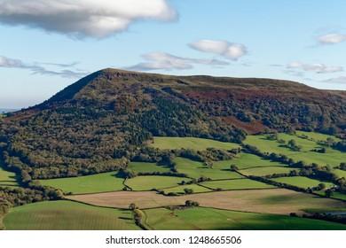 Ysgyryd Fawr (Skirrid Fawr) viewed Bryn Arw, Abergavenny, Monmouthshire, Wales
