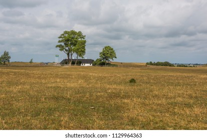 YSTAD, SWEDEN - JUNE 14, 2018: The summer house, Backakra, own by the former chairman of the United Nations, Dag Hammarskjold. Here was the first meeting of the security council hold outside New York