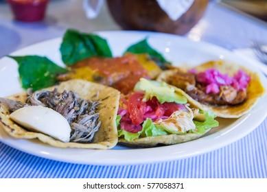 Yucatan food plate