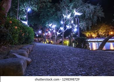 Yuejin Lantern Festival in Yanshui Tainan Taiwan.