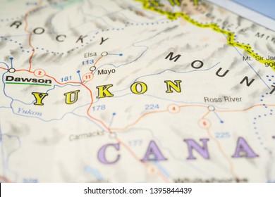 Map Of Canada Yukon River.Yukon Images Stock Photos Vectors Shutterstock