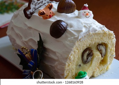 A Yule log is a traditional dessert served near Christmas, especially in Belgium, France, Switzerland, Quebec, Lebanon and several former French colonies, as well as the United Kingdom and Catalonia.