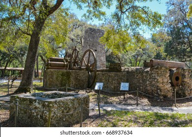 Yulee Sugar Mill Ruins Historic State Park in Homosassa Florida USA