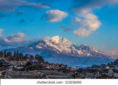 Yulong Snow Mountain in Lijiang