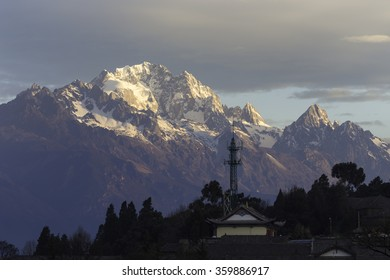 Yulong Snow Mountain in Lijiang