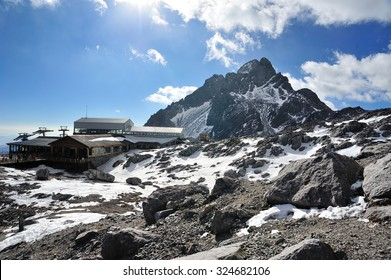 Yulong Snow Mountain in Yunnan, China