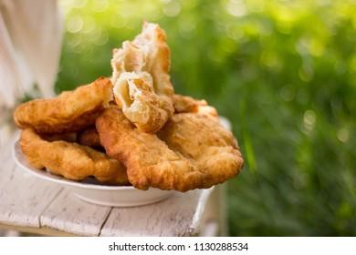 Yummy, fry bread, bulgarian