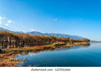 Yunnan Dali Erhai scenery