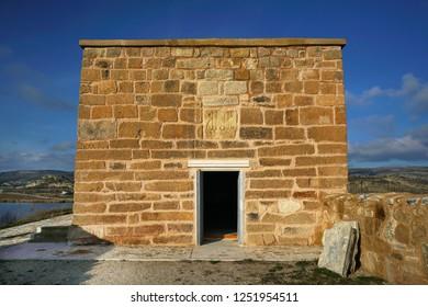 Yunus Emre Tomb from Phrygian Valley, İhsaniye, Turkey