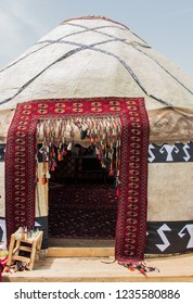 Yurt is a circular tent of felt or skins on a collapsible framework, used by nomads in Mongolia, Siberia, and Turkey.