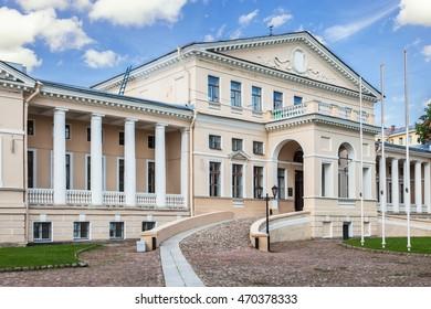 Yusupov Palace at Sadovaya Street/ Fontanka river in Saint Petersburg, Russia