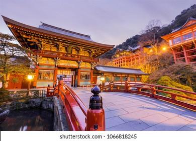 Yutoku Inari Shrine a Shinto shrine in Kashima city, Saga Prefecture, Japan. One of the most famous Inari shrines in Japan.