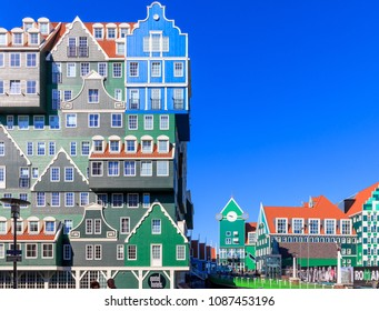 Zaandam, Netherlands, May 08, 2018: The Inntel Hotels in Zaandam