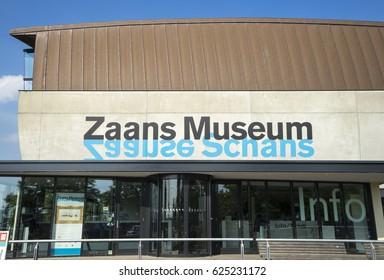 Zaanse Schans, Holland - JUL 4 in 2016 Zaanse Schans Museum