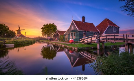 Zaanse schans est un quartier de Zaandam, près d'Amsterdam aux Pays-Bas